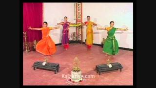 Bharatanatyam Adavus with Music