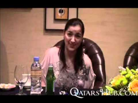 Ara Mina interview from Rakabayan 2 in Doha Qatar