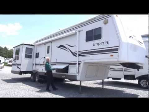 *SOLD* 2000 Holiday Rambler Imperial 36 Fifth Wheel -- 30176A