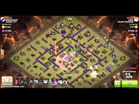GoLoWiWi - Chop - TH9 vs TH10 - Exordium vs  Tehran! iR!