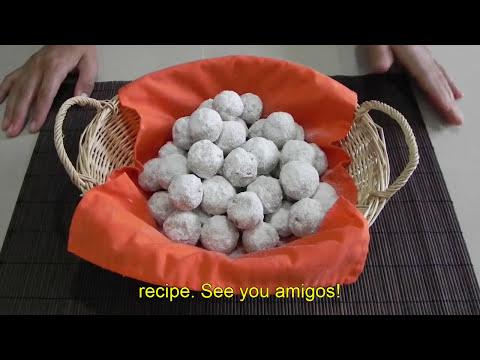 Galletas de nuez / Pecan Cookies