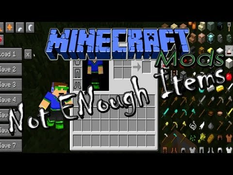 ★ ENG 1.5.2 Minecraft Mods - Not Enough Items, ft RevTut! Review & Tutoria