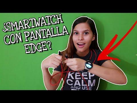 ¿PANTALLA EDGE EN UN SMARTWATCH?¿UN CABLE MAS ALTO QUÉ YO? smartwatch i4 Review completo en español.