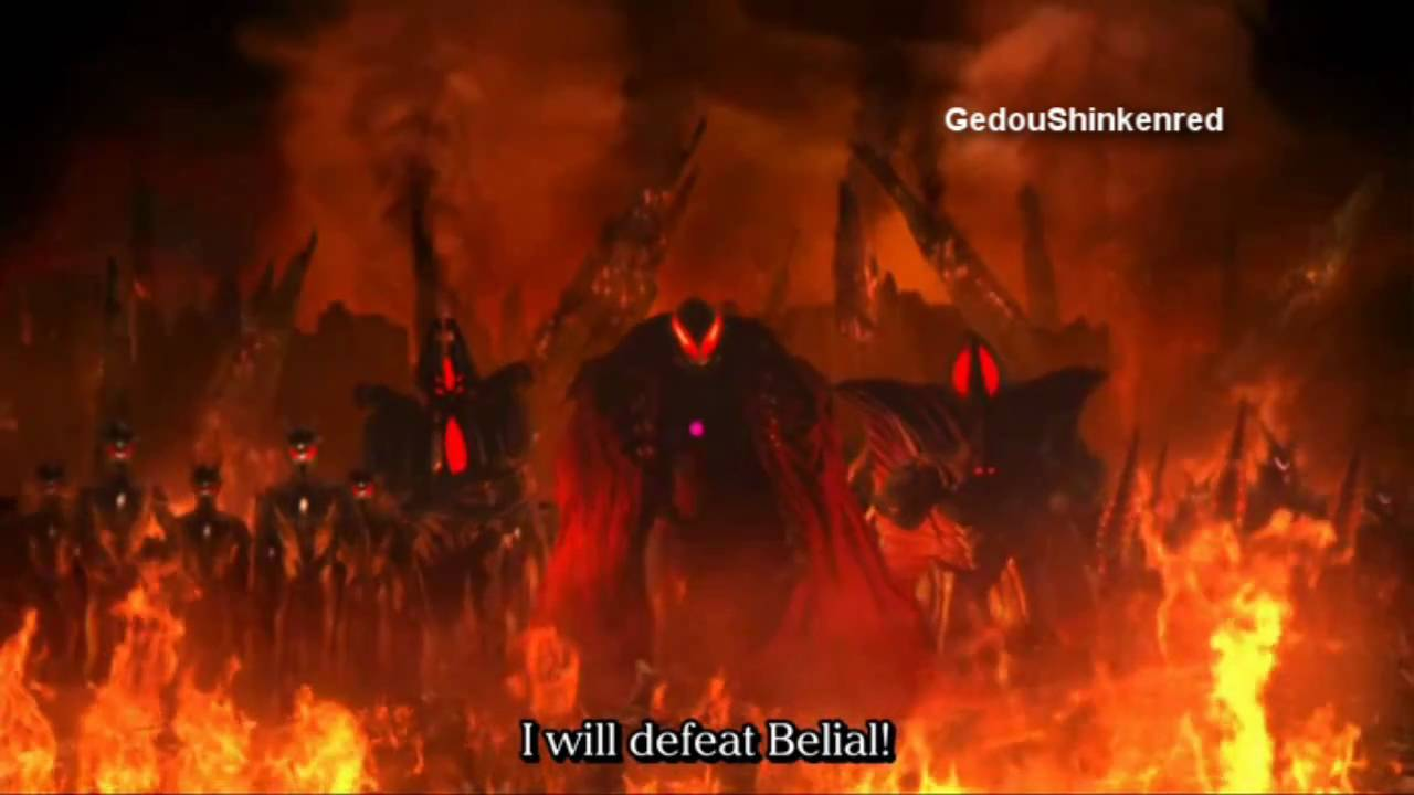Ultraman Belial Ultraman Zero Darkness...
