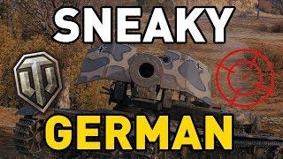 World of Tanks    SNEAKY GERMAN!