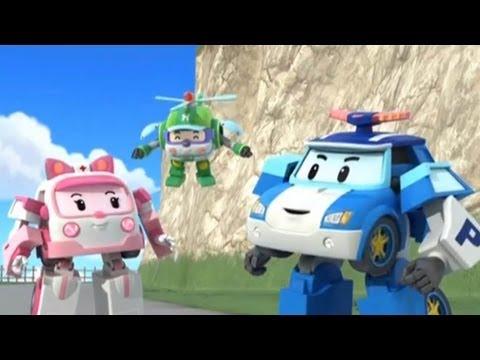 Робокар Поли - Трансформеры - Когда сдают тормоза (мультфильм 01)