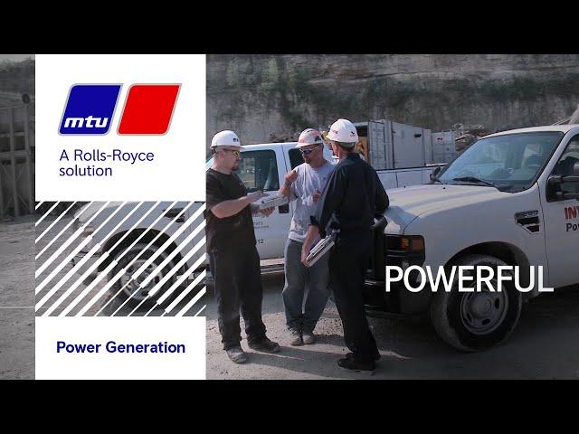 MTU Onsite Energy.  We Are Powerful.