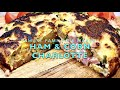 Ham & Corn Charlotte Kmart Family Pie Maker Cheekyricho Cooking Youtube Video Recipe ep.1,443