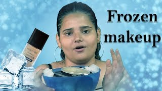 WE TRIED FULL FACE OF FROZEN MAKEUP | NASTY MAKEUP FAIL| ANAMIKA YADAV |