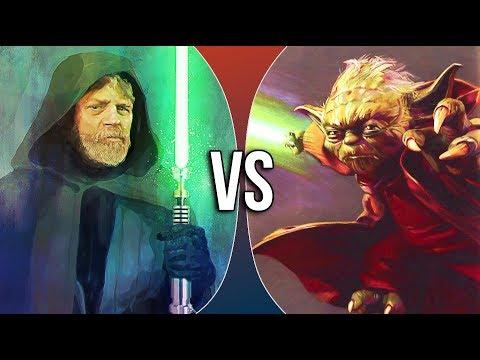 VS | Luke Skywalker vs Yoda (ft. DuduFilm)