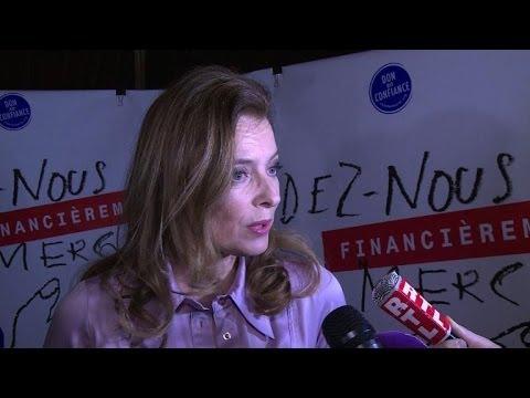 Valérie Trierweiler appelle les Français à voter