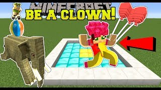 Minecraft: GOING TO CLOWN SCHOOL! - CLOWN TRAINING SCHOOL - Custom Map