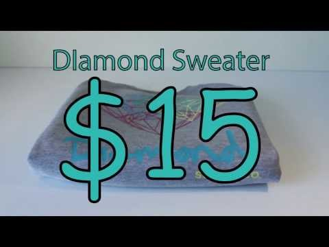 $15 Fake Diamond Sweater Review