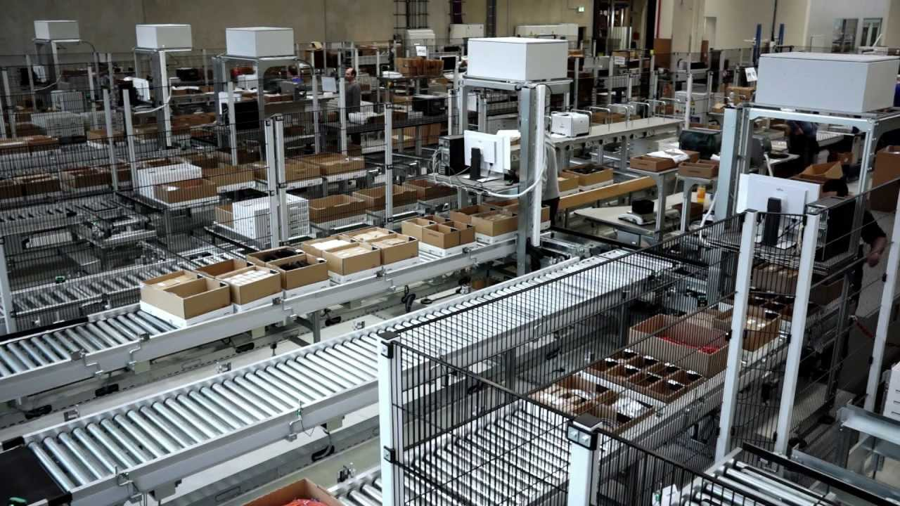 State-of-the-Art Intralogistics at the European ...