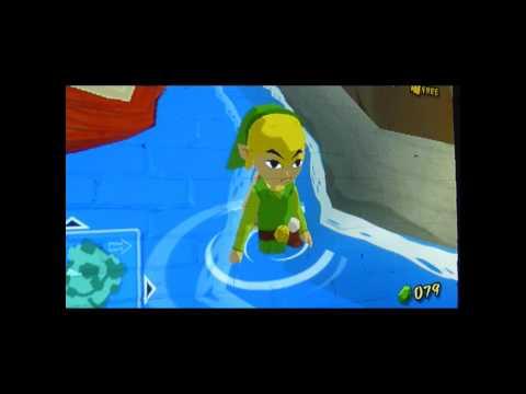 Angry Link pees like a dog