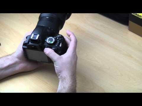 Nikon D3100 Back Button Focusing set up tutorial
