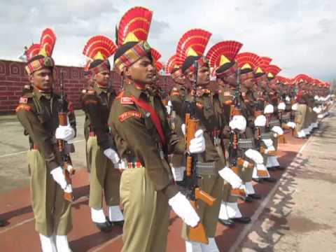 kashmir headlines Arshid Mir   passing out parade in Humhama by BSF