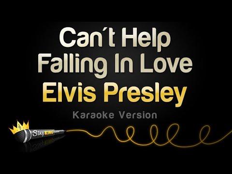 Elvis Presley   Can  39 t Help Falling In Love  Karaoke Version