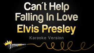 Elvis Presley Can 39 T Help Falling In Love Karaoke Version