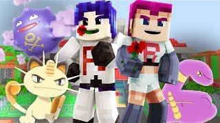 Pokemon Anime - TEAM ROCKET ATTACKS! (Minecraft Pixelmon Anime Roleplay) #2