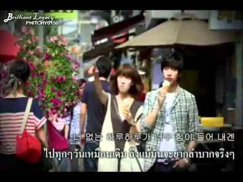 [thai Sub] Jisun (지선) - Crazy In Love (사랑에 미쳐서) Brilliant Legacy Ost. video