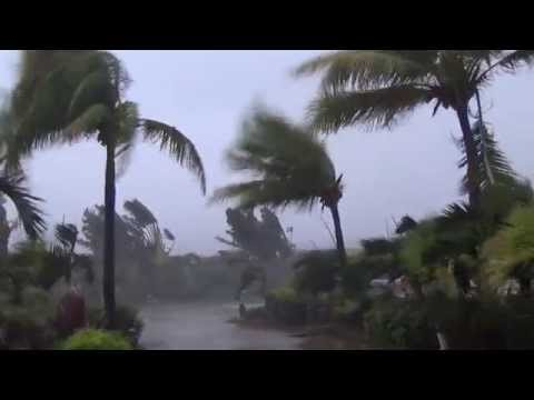 Typhoon Noul / Dodong Lashes Santa Ana, Philippines 10th May 2015