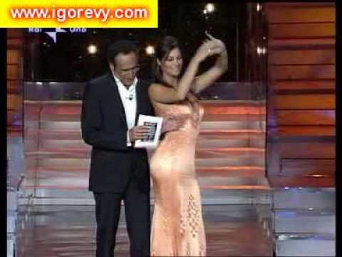 Manuela Arcuri Oscar in tv
