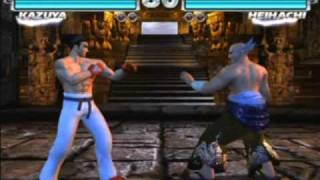 Tekken Tag Tournament - Intro + Gameplay