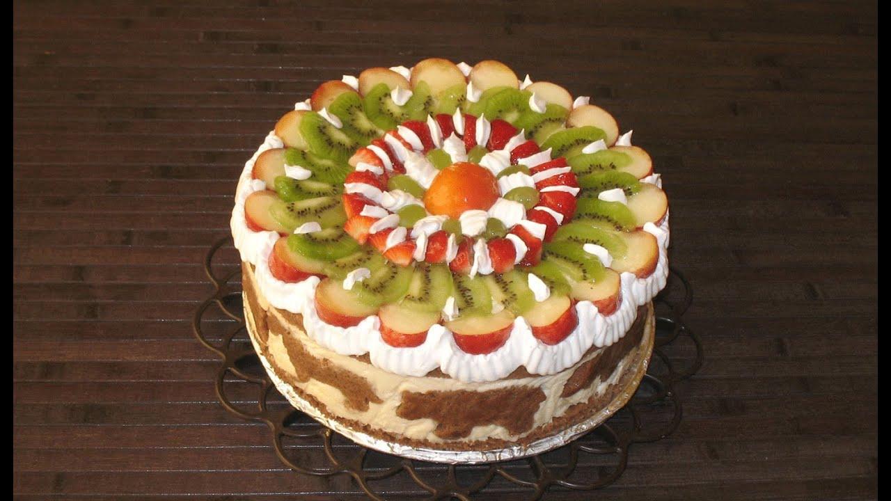 Фруктовый торт - как приготовить в домашних условиях по вкусным 13