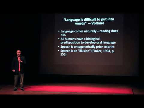 The Teaching of Reading and the Generosity of Readers | Edward Kame'enui | TEDxClaremontColleges