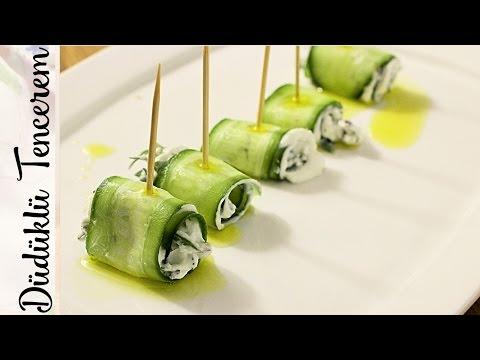 Pratik Meze - Salatalık Rulo