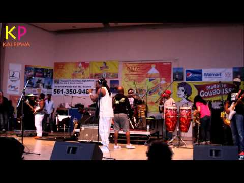 Host Keed Coulgi [Zenglen Coming Up] at Haitian Culture, Music & Food Festival