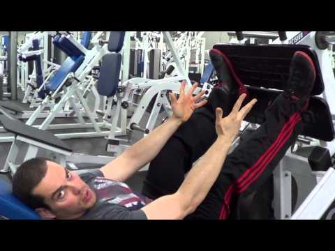 The BEST Leg Press Foot Position Image 1