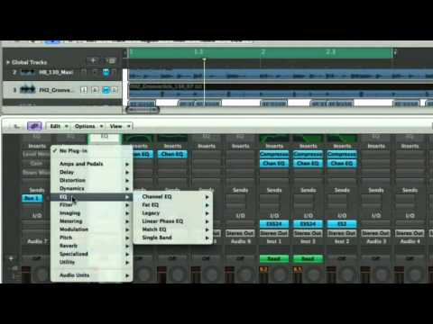 Music Software Comparison - review of the differences between Ableton Live. Logic and Reason