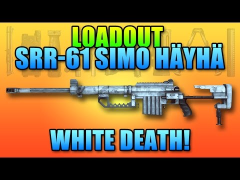 Battlefield 4 Loadout SRR-61 Simo Häyhä White Death Hardcore Mode