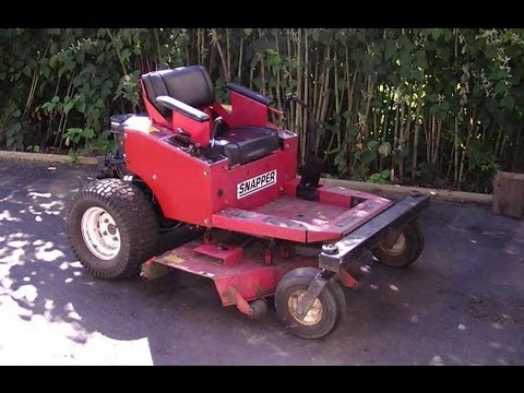Snapper Zero Turn Lawn Mower Z1802K Overview