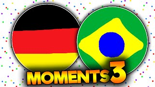 AGAR.IO BRAZIL & GERMANY MOMENTS // PARTE #3