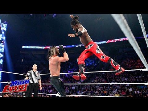 Kofi Kingston vs. Seth Rollins: WWE Main Event, Aug. 12, 2014