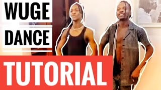 WUGE DANCE TUTORIAL NAIRA MARLEY LIL SMART | AS E DEY GO NAIRA MARLEY | WUGEDANCE | POCO DANCE