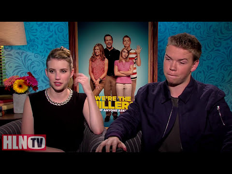 WE'RE THE MILLERS interview: Will Poulter & Emma Roberts