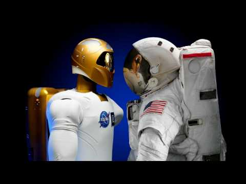 Nasa's Cylons - Robonaut 2 - Battlestar Galactica Opening