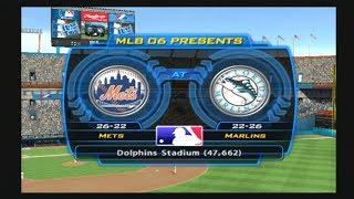 MLB 06: The Show (Florida Marlins Season) Game #49 - NYM @ FLA
