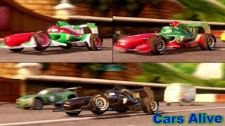Cars 2: The video Game - 3 Francesco`s Race on Casino Tour