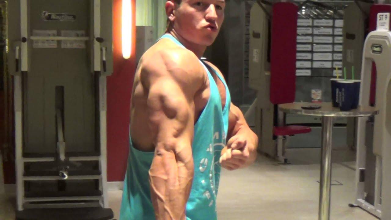 Bodybuilder Pascal Haag