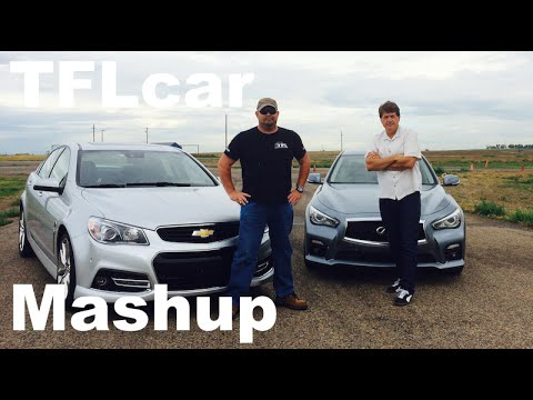 2014 Infiniti Q50S vs Chevy SS Mashup Review: 4-Door Sports car vs Muscle Sedan