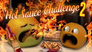 Annoying Orange - Hot Sauce Challenge #2!