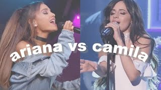 ARIANA GRANDE VS CAMILA CABELLO 2016 {VOCALS}