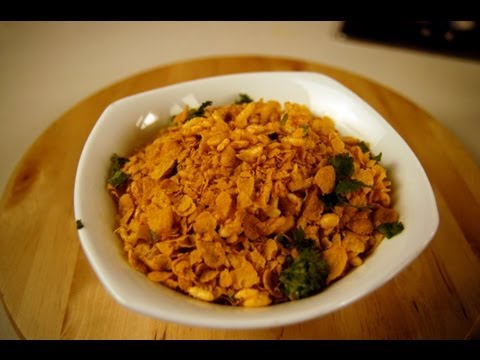 JHALMURI WITH CORNFLAKES