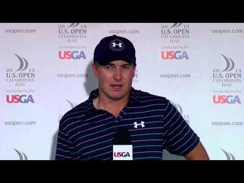 Jordan Spieth Speaks After Winning the 2015 US Open