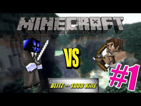 [FR] Minecraft – Ghost vs Melanx E01 : Blitz 1000 Kills Edition